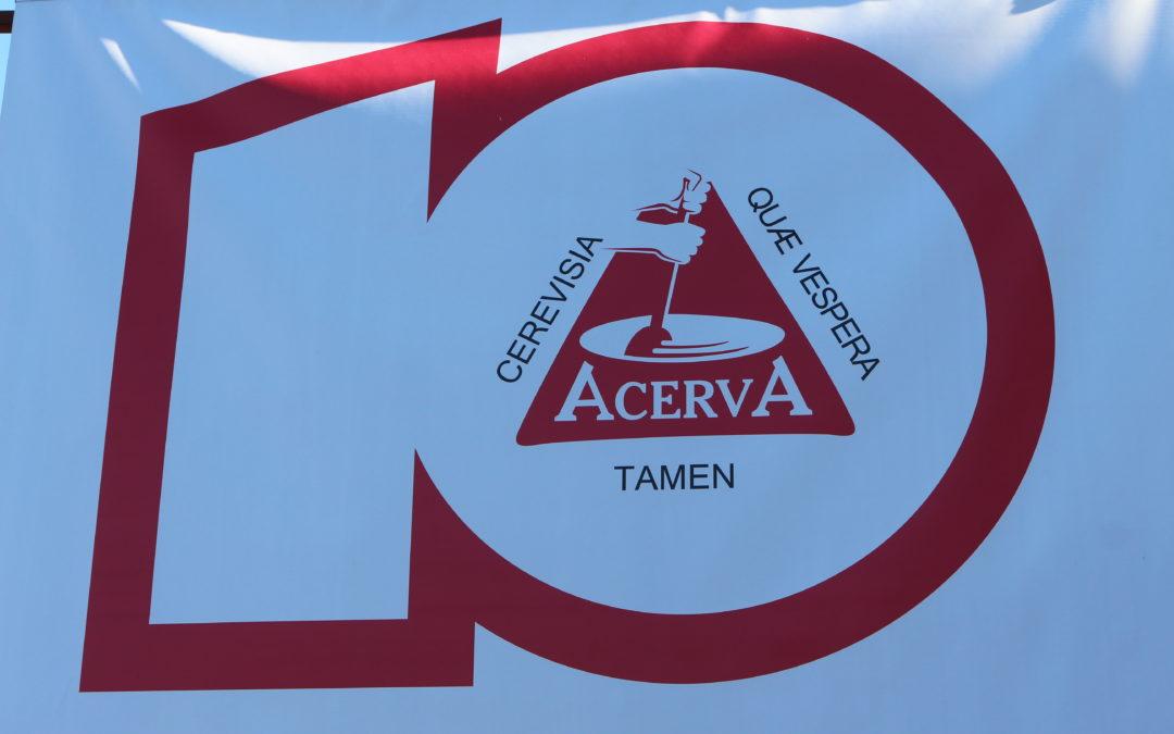 Workchopp e festa: 10 anos de ACervA mineira